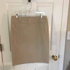Gap Stretch Cotton Pencil Skirt - Size 10